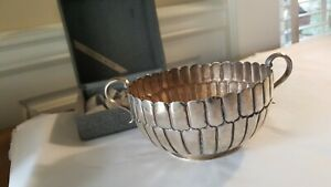 Vintage Sterling Silver Footed Bowl Scrap Not Mid Century 290 Grams Mexico 925