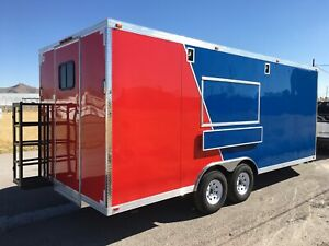 New Concession Food Event Restaurant Bbq Trailer 20 X 8 5