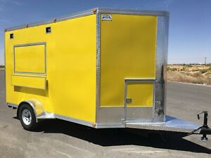 New Food Trailer Catering Concession Bbq 12 X 7 Fully Equipped