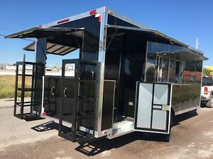 New Food Trailer Catering Concession Bbq 18 X 8 5 Fully Equipped