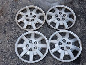 Set Of 4 Oem 2002 04 Buick Rendezvous Cx 16 5 Lug Hubcaps Wheel Covers 9593863