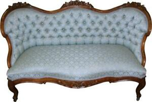 18282 Victorian Rose Carved Beautiful Sofa