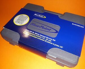 Blue Point New 1 2 25pc Socket Service Set As Sold By Snap On