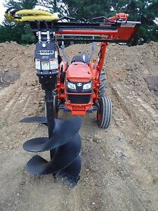 Kubota Tractor Attachment Danuser Ep 10 Hex Auger With 30 Bit Ship 199