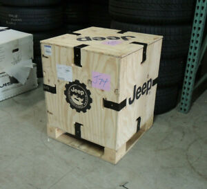 Jeep Wrangler Lift Kit Box From Jeep Oem Wood Crate Box Excellent Condition