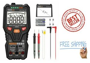Tacklife Dm06 Multimeter Digital Electric Tester Auto Range 6000 Counts Trms Vo