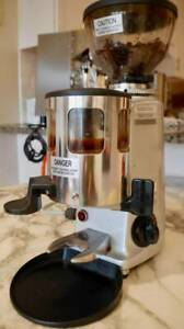Mazzer Luigi Srl Mini Timer Coffee Grinder Commercial Italy With Doser Euc