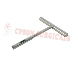 Hollow Mill For Removal Of Bone Screw Extractor 2 7mm Orthopedics Instruments