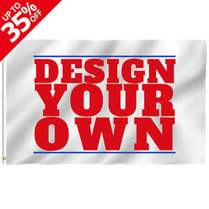 Anley Custom Flag Customized Flags Banners Print Your Own Design Grommets Free
