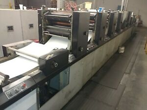 Didde Web 5 Color Mdl 175 Roll To Sheet Roll To Roll Form Press