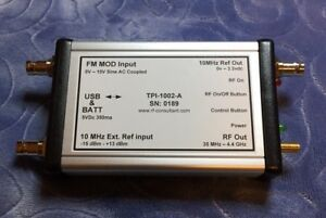 Calibrated Rf Signal Generator 35mhz To 4 4ghz Via Usb Stand Alone Capability