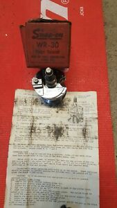 Snap On Vintage Wr 30 Ridge Reamer With Original Box And Manual