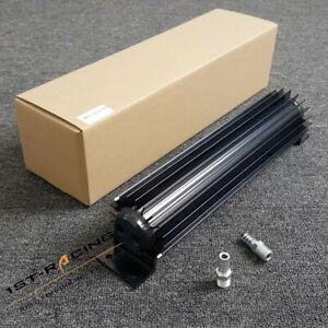 18 Inch Transmission Oil Cooler Kit Round Dual Pass Tube And Fin Aluminium New