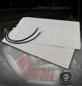 Universal Heated Seat Heater Pad W round Hi low Switch Galant Sunfire Highlander