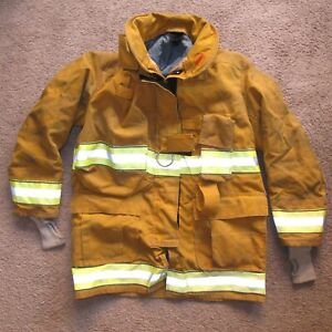 Globe Gx 7 Turnout Gear Jacket Year 2013 Size 42 Firefighter Gear Nice