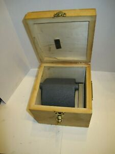 Cadillac Height Gage 6 Inch Riser Block With Fitted Case Pristine Condition