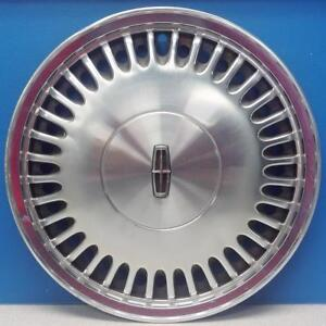 One 1988 1993 Lincoln Town Car Continental 868 15 Hubcap Oem E80y1130a