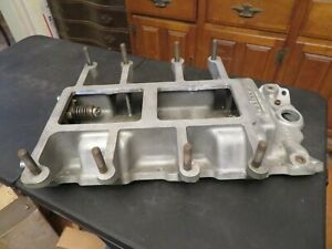 Vintage Nostalgic Chevy Small Block Weiand Blower Supercharger Intake Manifold