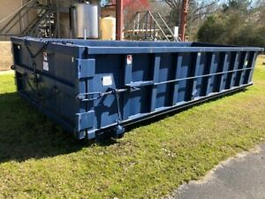 excellent Condition 20 Cubic Yard Dumpster never Used