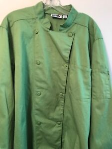 Chefwear Men s Size Large Chef Coat 10 Button Long Sleeve