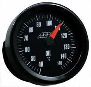 Aem Oil Water Trans Temperature Gauge Analog Metric 52mm 30 5140m