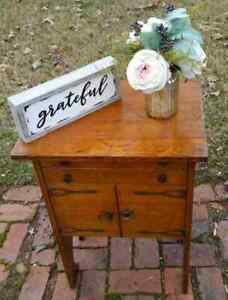 Antique Arts And Crafts Style Dry Bar