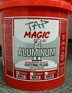 Tap Magic 5 Gal Aluminum Cutting Fluid For Aluminum Magnesium