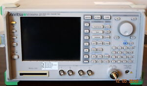 Anritsu Ms8609a Mobil Radio Tester spectrum Analyzer 9khz 13ghz Options 1