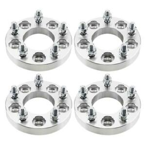 4pc 1 Wheel Spacers For Honda Civic Accord Adapters Lugs Stud 5x114 3 To 5x120