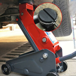 Universal Floor Jack Disk Pad Adapter For Pinch Weld Side Rail Stand Jackpad Hot