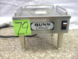 Bunn o matic Warmer coffee Tea