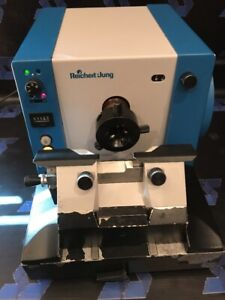 Reichert Jung 2040 Autocut Rotary Microtome Knife Holder Blade Leica Biocut 2030