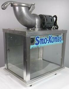 Sno Kone Sno konette Ice Shaver Machine Tested Working