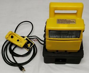 New Weatherhead T 481 110 10 000 Psi 115v 5hp Portable Hydraulic Pump