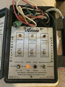 Annie Imperial Model A 2 Hermetic Analyzer In Box Hvac