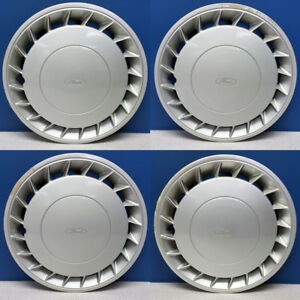 1991 1994 Ford Mustang Escort 889 892 14 Hubcaps F1zz1130b Used Set 4