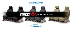 Coverking Genuine Leather Custom Seat Covers For Ford Mustang