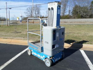 2013 Genie Gr 20 Personal Runabout Aerial Work Platform Gr20 Single Man Lift