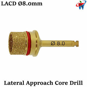 Dental Implant Surgical Lateral Approach Core Drill Membrane Sinus Lift 8 0