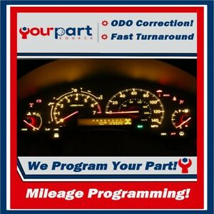 odometer Correction Programming 04 07 Qx56 Instrument Speedometer Cluster