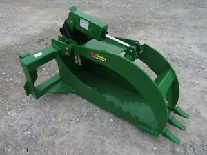 John Deere Tractor Extreme Duty Stump Bucket Grapple Attachment Ship 149