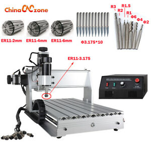 Mini Cnc 3040z dq 3axis Desktop Engraving Machine 500w Mach 3 Cutting Diy Router