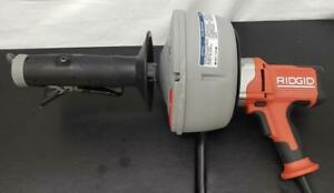 Ridgid 36013 K 45 1 Autofeed Drain Cleaning Machine With C Cable With Bulk Auger