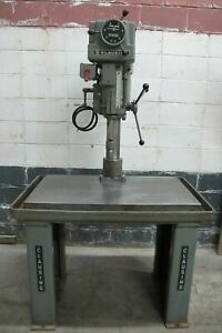 Clausing Variable Speed Drill Press No 2286 W production Table