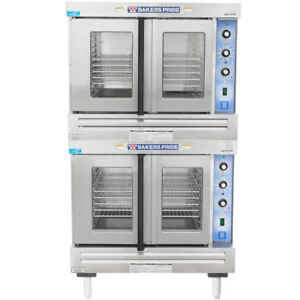 Bakers Pride Gdco g2 Commercial Double Deck Gas Convection Oven Energy Star Ng