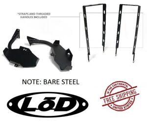 Lod Xpedition Series Jerry Can Mount Set Bare 87 95 Jeep Wrangler Yj Jjc9680