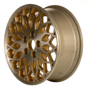 16 X 6 5 Web Spoke Refurbished Oem Chrysler Alloy Wheel Gold 02095