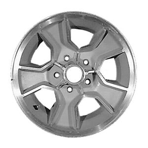 15 X 7 5 Spoke Oem Chevy Alloy Wheel Light Sparkle Silver Textured 1458