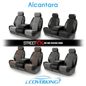Coverking Alcantara Custom Seat Covers For Pontiac Fiero