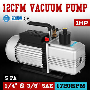 12cfm Vacuum Pump Single Stage 22 5micron 110v 60hz Medical Appliances